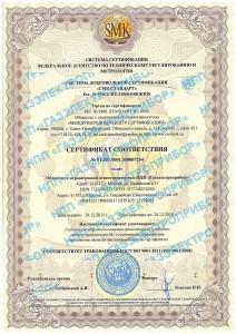 Сертификат исправленный